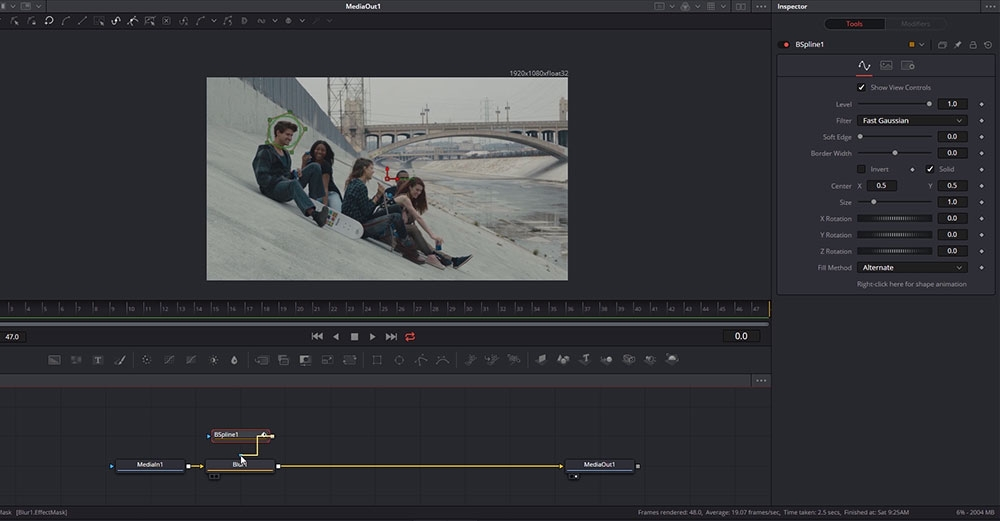 Introduction to visual effects in DaVinci Resolve Fusion
