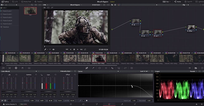 Look Creation in DaVinci Resolve