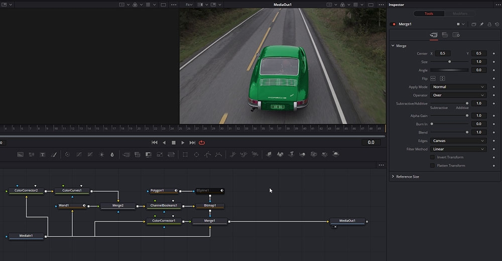 Rotoscoping in DaVinci Resolve